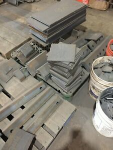 "7//16/"" .4375/"" Hot Rolled Steel Sheet Plate 4/""X 6/"" Flat Bar A36"
