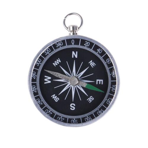 Pocket Hiking Camping Aluminum Outdoor Emergency Compass Navigation/_vi