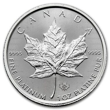 2016 Canada 1 oz Platinum Maple Leaf