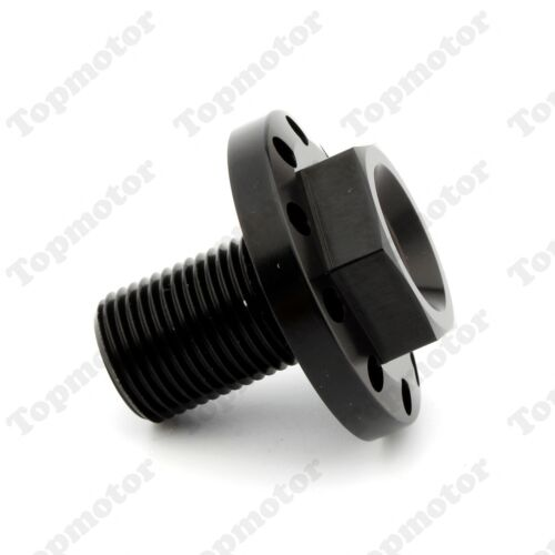Black Anodized CNC Aluminum Steering Stem Bolt For Harley 1991-2005 FXD 88-14 XL