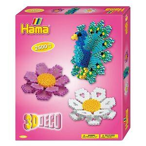 HAMA midi 3238 Bügelperlen Set 3D-DEKO Geschenkpackung