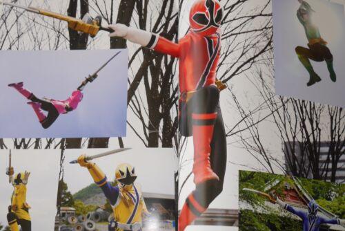 "JAPAN Samurai Sentai Shinkenger Memorial Photo Book /""Tenka Gomen/"""
