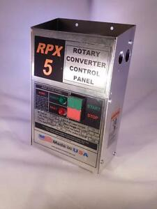 rpx5 5 hp rotary phase converter panel make your own true. Black Bedroom Furniture Sets. Home Design Ideas