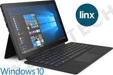 "Linx 12X64 12.5"" FHD Intel Quad Core 64GB 4GB Windows 10 Tablet Keyboard Dock"