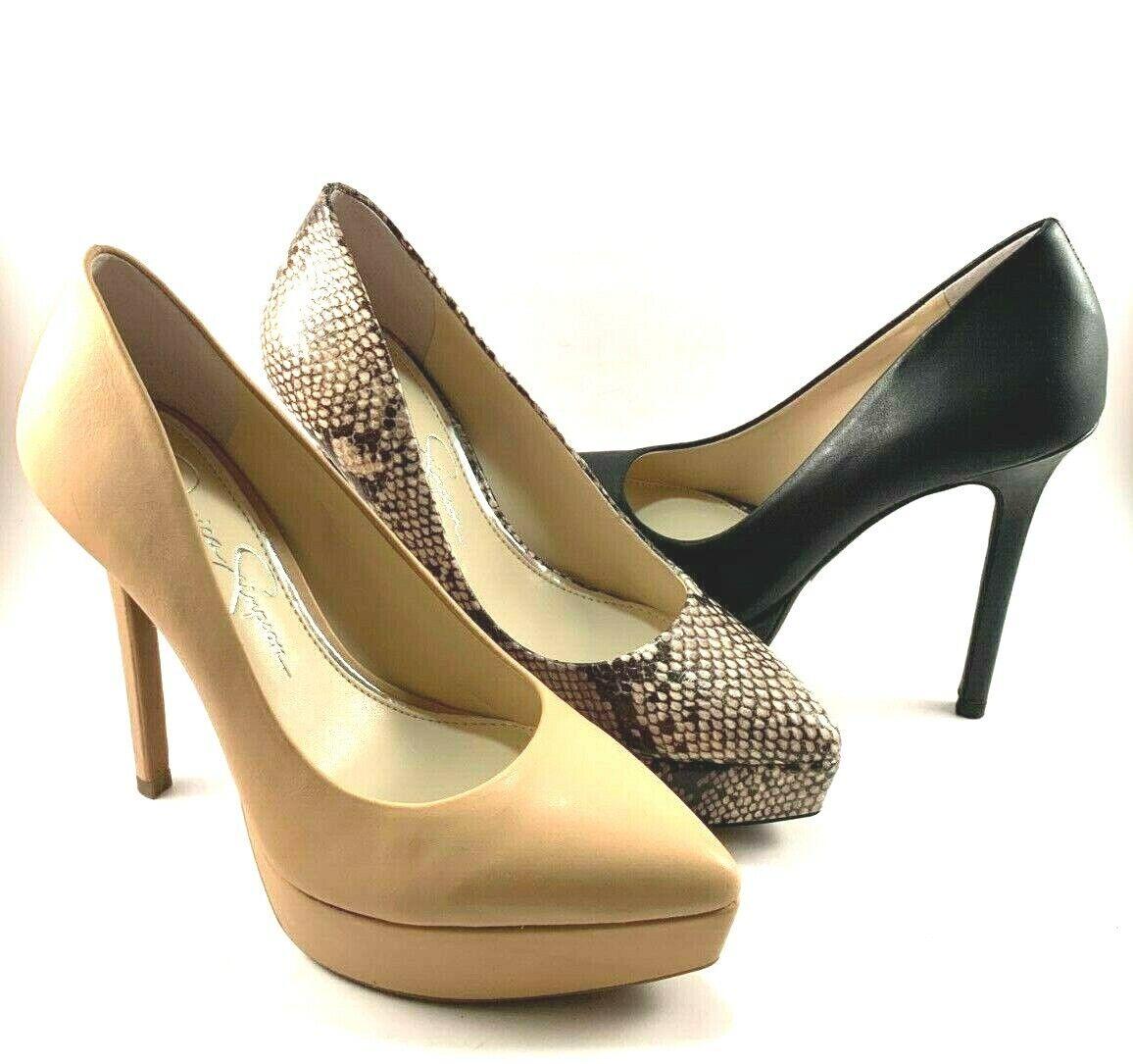 Jessica Simpson Lael Pointed Toe Platform Pumps Choose Sz color