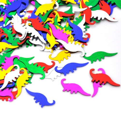 Dinosaur Table Confetti Boys Party Mixed Colours Decorations Sprinkles BSCA