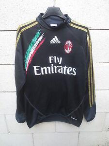 Sweat-training-A-C-MILAN-ADIDAS-Formotion-magli-jersey-shirt-calcio-football-S