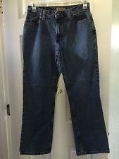 Zena Women's Designer Straight Leg Denim Blue Jeans Size 10 P