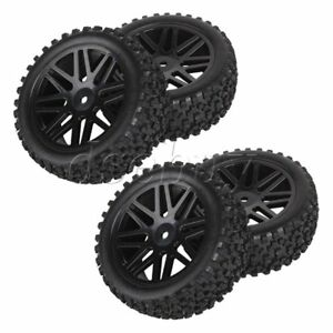 4Pcs-Mesh-Shape-Wheel-Rim-and-Rubber-Tires-for-RC-1-10-Off-Road-Car
