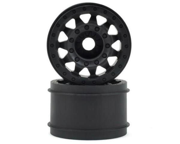 "Traxxas Style Bead Black Wheels 17mm hex PRO275503 Pro-Line Racing F-11 2.8/"""