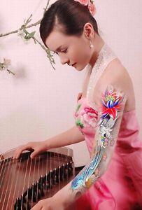 Tatuaje-Temporal-COMPLETO-Brazo-Tatuaje-XXL-40x14cm-fish-amp-flower-Coulor-mb-02