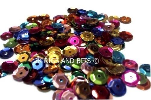 500 mixed colour attractors 7mm Fishing sequins