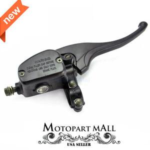 Front Right Brake Master Cylinder Polaris Big Boss 250 300 350 500 Metal Black