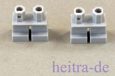L 2 X Beine Hose Kurz Hellgrau Lego 41879 Neuware Zahlreich In Vielfalt Bluish Gray Legs Short