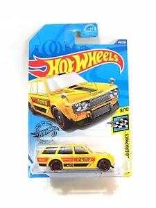 2020 HotWheels Unrivit Unspun Yellow Momo Datsun 510 Wagon Exclusive!!