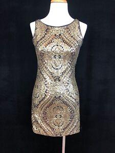 Xoxo Gold Dress