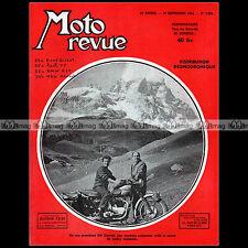 MOTO REVUE N°1204-c NSU 200 SUPER-LUX 350 KONSUL RENE GILLET BMW R 35 PUCH 1954