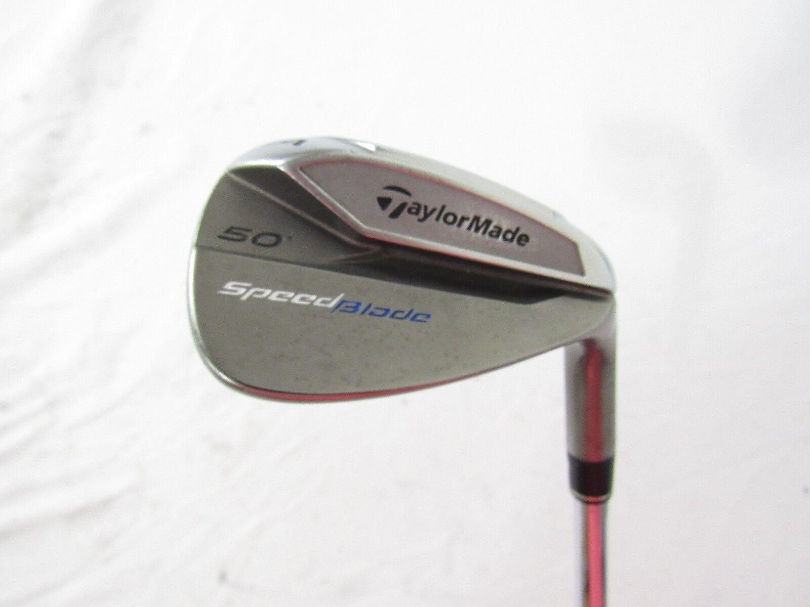 Taylormade SpeedBlade  50  AW Gap Wedge 85G regular (r) de acero flexible utilizado mano derecha  punto de venta de la marca