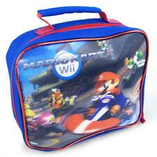 Lunch Bag Insulated Nintendo Wii Mariokart Wii Racing Mario Bros NEW