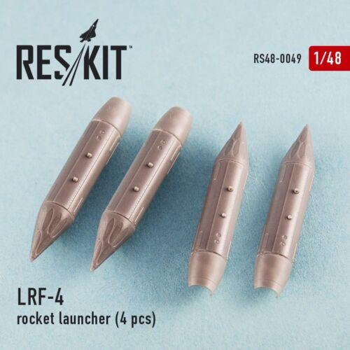 4pcs 1//48 LRF-4 Rocket Launcher for Mirage F.1//Mirage 2000//Sepecat Jaguar kits