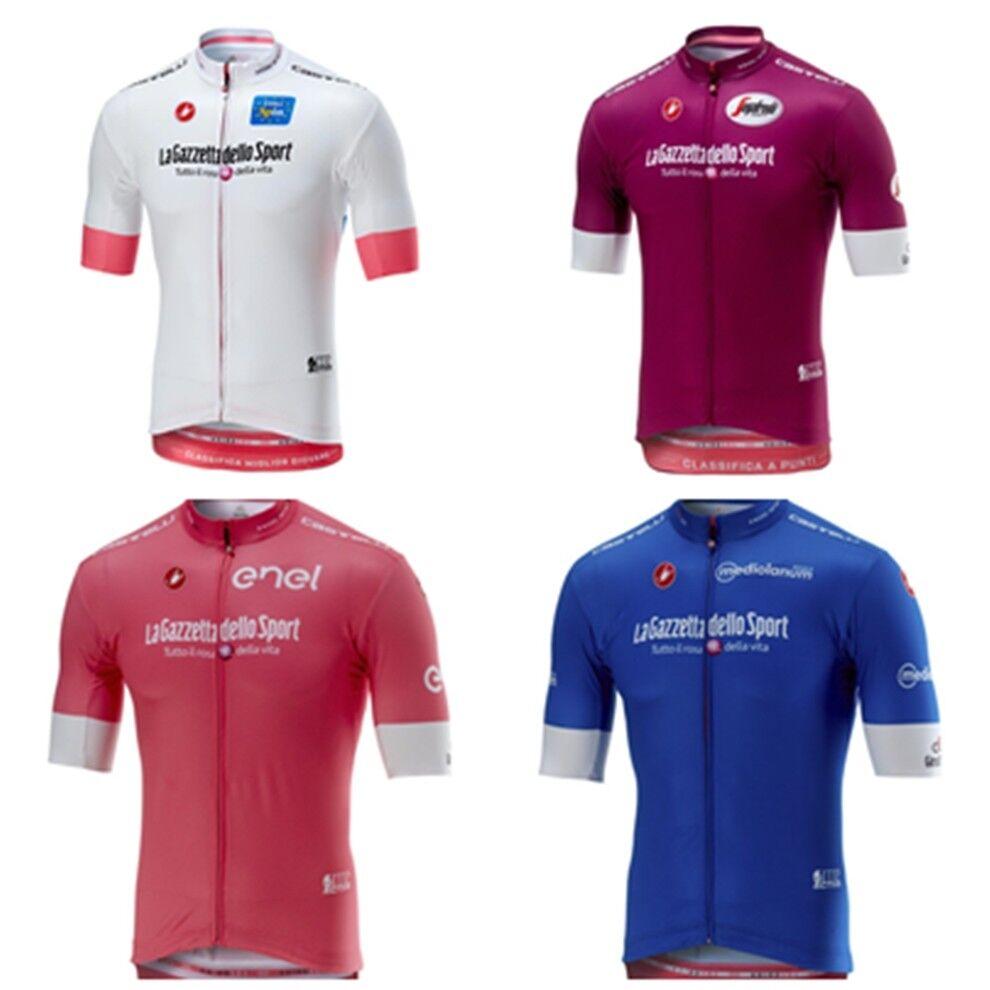 2018 CASTELLI GIRO D'ITALIA SQUADRA SQUADRA SQUADRA TEAM MAGLIA MAGLIETTA  BICI BICYCLE c4dd65