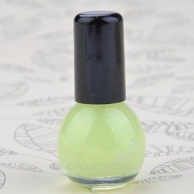 Womens Glow in the Dark Night Fluorescent Nail Polish Varnish Luminous Paint E5
