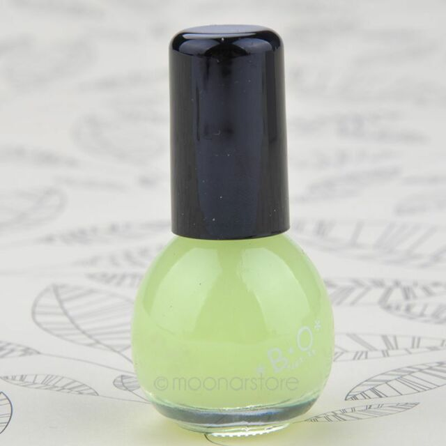 Evening Party Glows in dark Fluorescent Nail Polish Nail Varnish Lacquer Paint