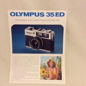 OLYMPUS-35ED-CAMERA-SALES-LEAFLET