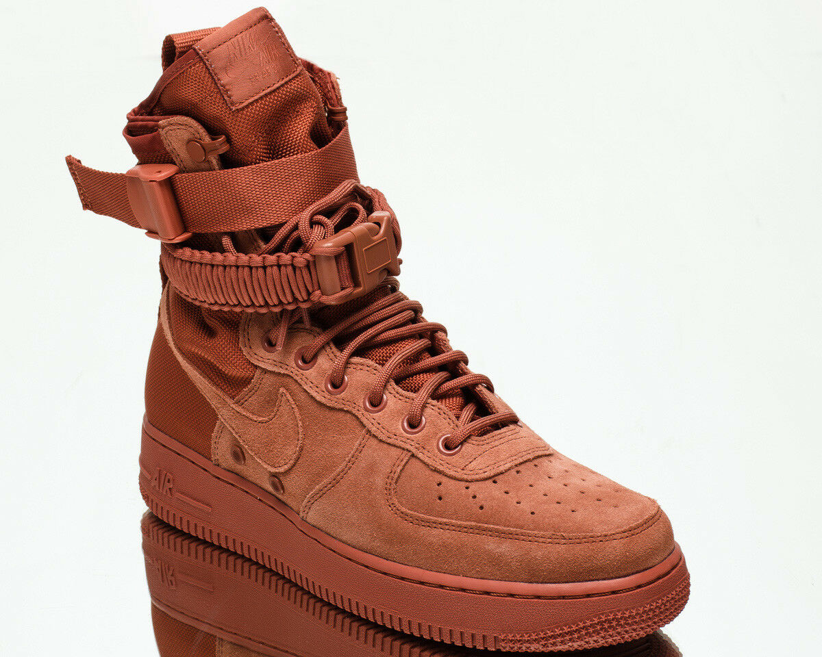 Nike SF Air Force 1 Mid AF1 men lifestyle sneakers NEW dusty peach 864024-204