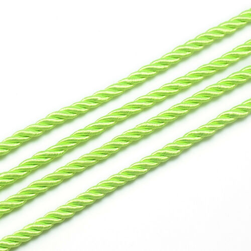 20yds//Roll Beading Nylon Threads Round Stringing Cords 16 Color Full Spool 5mm