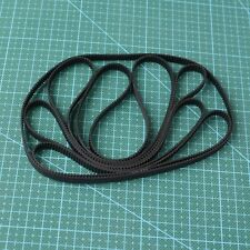 GT2 Timing Belt Annular Loop Cogged Closed Rubber 6mm Width 2mm Pitch 320-2GT