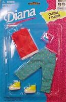 Vintage Diana Casual Fashion Doll Outfit Blouse Capris Midwestern New on Card