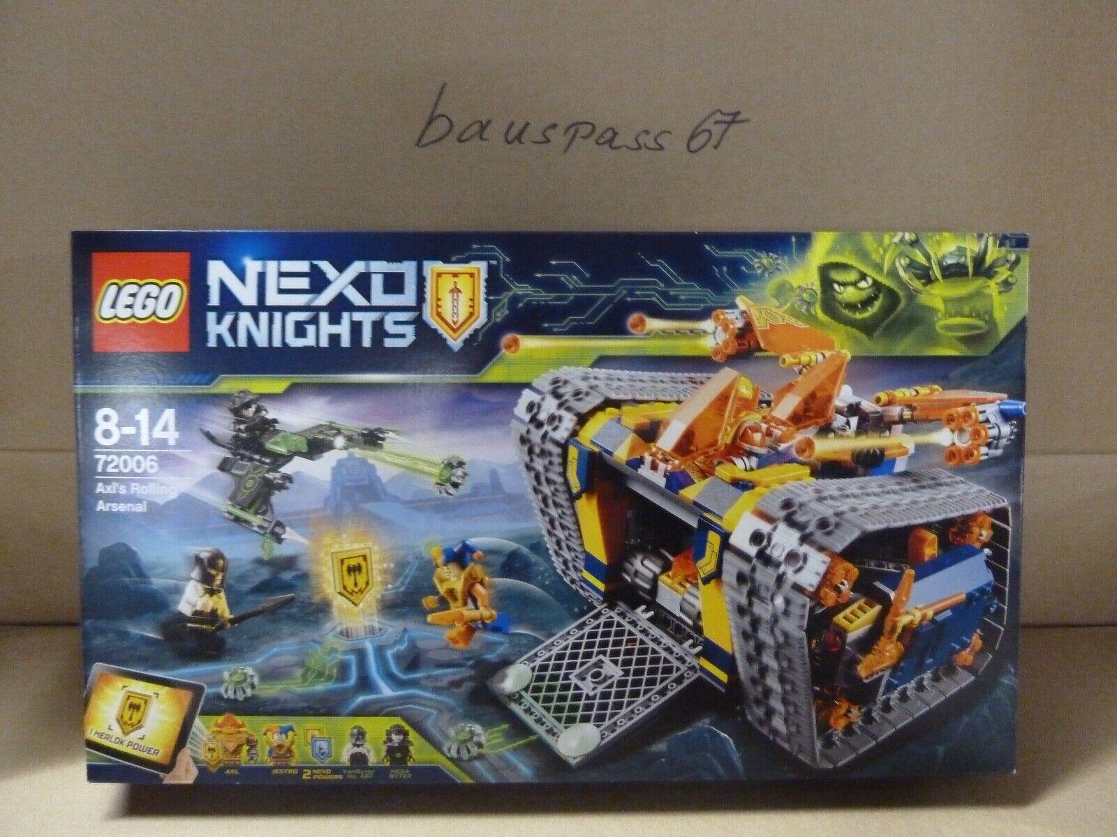 NEU  Lego Nexo Knights 72006 Axls Donnerraupe ungeöffnet