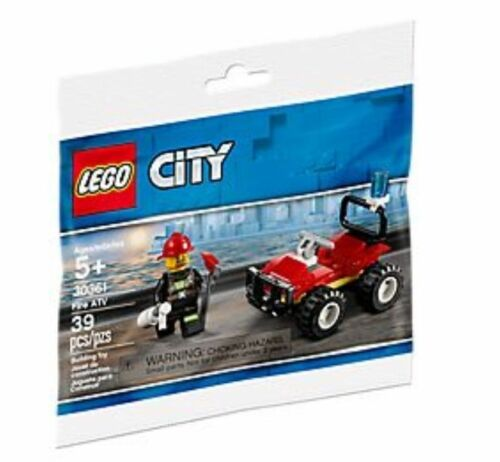 Lego 30361 City Fire ATV Polybag new//sealed