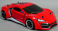 Custom RC 1/10 Drift FF LYKAN HYPERSPORT AWD Belt CAR RTR