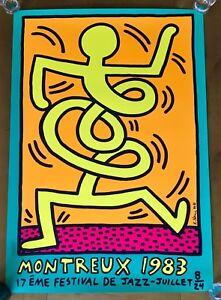 Keith Haring - Montreux Jazz Festival 1983 Bleu Le Plus Grand Confort