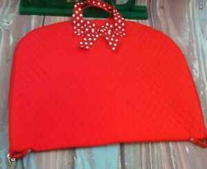 Image Is Loading Larlar Red Zipper Closure Polka Dots Bow Tie