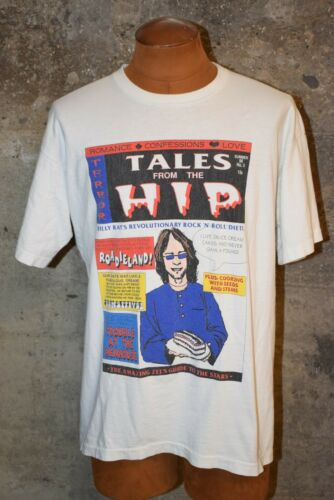 Vintage 1990's Tragically Hip Tales From the Hip T