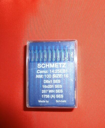 SES Nm 100 Schmetz-Rundkolbennadel 1738//A