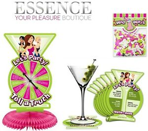 Details about Truth Or Dare Party Confetti, Plates, Centrepiece, cups,  Inflatable - Hen Party