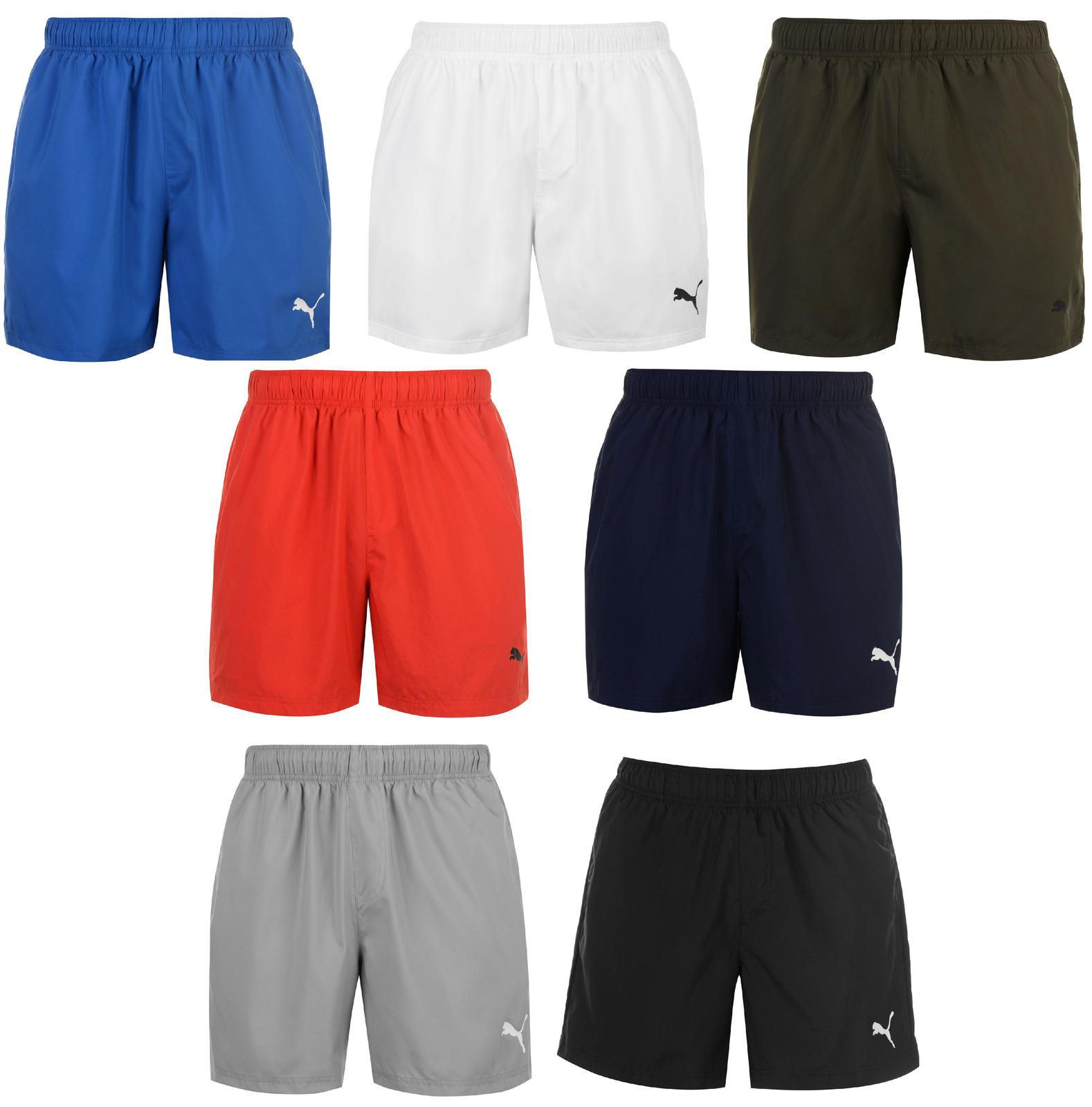 Puma Herren Shorts Sporthose Kurzhose Bermuda Sport Hose Fußball 7008    Bunt,