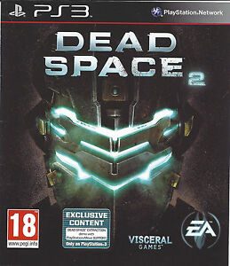 dead space 2 for playstation 3 ps3 with box manual ebay rh ebay co uk dead space 3 manuel xbox 360 dead space 3 ps3 manual