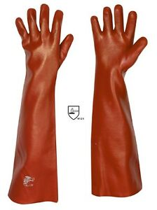 PVC-Handschuhe-60-cm-Teich-Schutzhandschuhe-lange-Angel-Gummihandschuhe