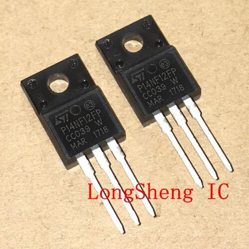 10PCS STP14NF12FP Encapsulation:TO-220FP new