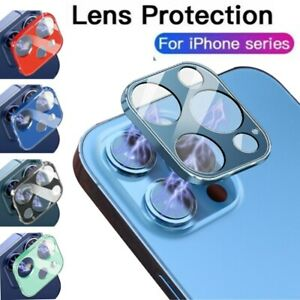 For iPhone 12 Pro Max 11 Full Cover Tempered Glass Camera Lens Screen Protector