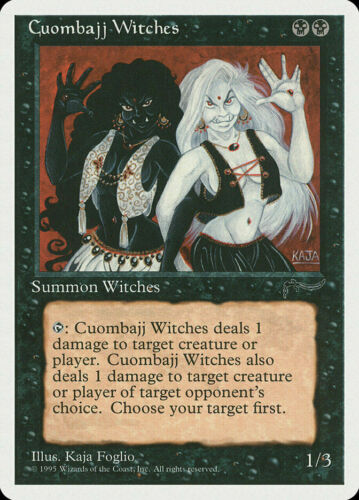 CHR CUOMBAJJ WITCHES 1x Rare Magic Chronicles MTG EX Excellent Condition