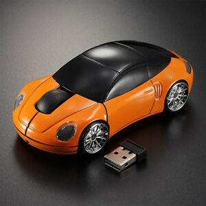 3D-Wireless-Optical-2-4Ghz-Car-Shaped-USB-Mouse-Mice-1600DPI-for-PC-Laptop-New