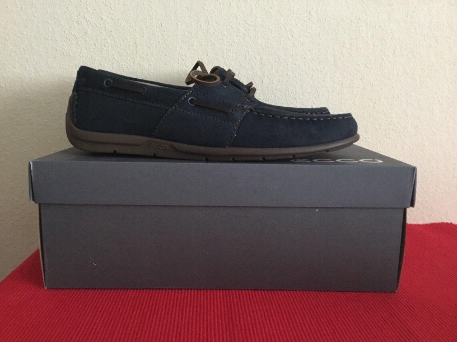 Ecco Classic mocasín 2.0 zapatos caballero zapatillas de cuero 57096402058 talla  elegibles nuevo