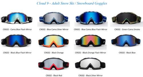Snow Ski Goggles Winter Sport Anti Fog Dual Lens  3 Layers Foam UV Protection