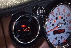 Details about P3 Cars Integrated Boost Vent Gauge Mini Cooper R51 R52 R53  JCW
